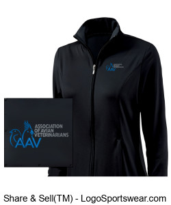 Charles River Women's Fitness Jacket Design Zoom
