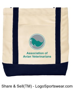 AAV Canvas Tote Design Zoom