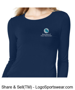 Silky Long Sleeve Base Layer Tee  Design Zoom